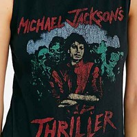 Michael Jackson Thriller Muscle Tank - Urban Outfitters