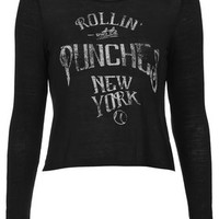 ROLLING PUNCHES TEE BY PROJECT SOCIAL TEE