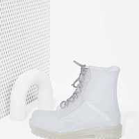 Roadie Combat Boot - Clear
