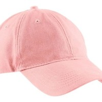 Port & Company Brushed Twill, Low Profile Cap