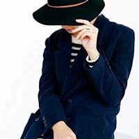 Kimchi Blue Suede Trim Felt Floppy Hat - Urban Outfitters