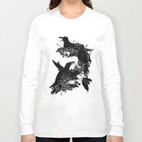 A Feast for Crows Long Sleeve T-shirt by Tobe Fonseca