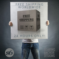 ☞ Free Worldwide Shipping: Today Only ☜ 24 Hours...GO! by soaring anchor designs ⚓ | Society6
