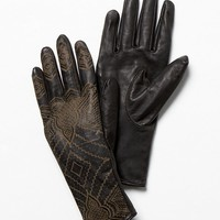 Free People Henna Leather Glove