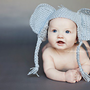 Custom Elephant Hat PROP or GIFT Toddler and Child sizes