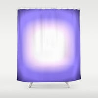 Periwinkle Blue Focus Shower Curtain by 2sweet4words Designs | Society6