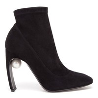 NICHOLAS KIRKWOOD | Suede Boots with Pearl Detail | Browns fashion & designer clothes & clothing