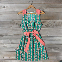 Arrow Falls Dress, Sweet Women's Bohemian Clothing