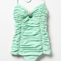 Drawn To The Heart Maillot - Anthropologie.com
