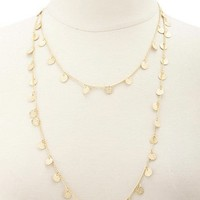 LAYERED COINL NECKLACE
