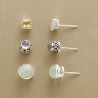 Pastel Gemstone Stud Earrings Set | Robert Redford's Sundance Catalog