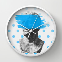 Wade Wall Clock by Heart of Hearts Designs