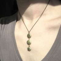 Locket Trio Single Chain Necklace