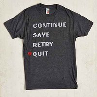 Junk Food Continue Save Retry Quit - Urban Outfitters