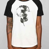 Poolhouse Black Rose Tee - Urban Outfitters