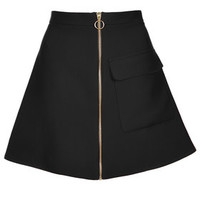 Patch Pocket A-line Skirt - New In This Week - New In