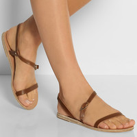 Ancient Greek Sandals - Niove leather sandals