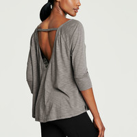 NEW! V-back Boxy Tee