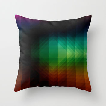 Geometric 07 Throw Pillow by VanessaGF