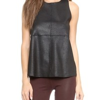 Tank with Back Zipper