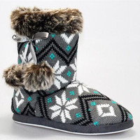 SNOW ANGELS SWEATER BOOTS