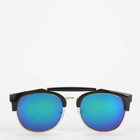 Beach Bum Mirrored Catmaster Sunglasses - Urban Outfitters
