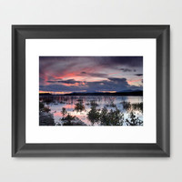 Last light Framed Art Print by Guido Montañés | Society6