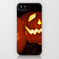 Halloween Lanterns iPhone & iPod Case by Steve Purnell