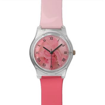 Pink Rose Photography Watch