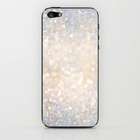 Glimmer of Light II (Ombré Glitter Abstract*) iPhone & iPod Skin by soaring anchor designs ⚓ | Society6