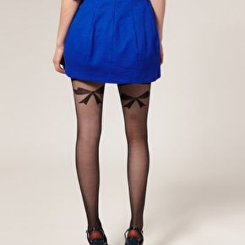 ASOS Sheer Bow Tights at ASOS