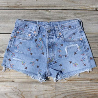 Vintage Arrow Shorts, Sweet Country Inspired Vintage Clothing