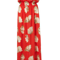 Red Buttercup Print Bandeau Maxi Dress - New In This Week - New In - Topshop USA
