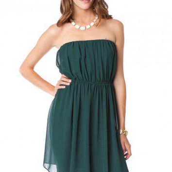 Forest Moss Dress - ShopSosie.com