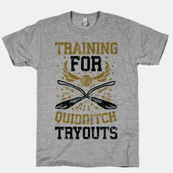 Training For Quidditch Tryouts (Hufflepuff)