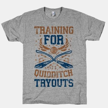 Training For Quidditch Tryouts (Ravenclaw)