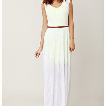 Townsen - Sheer Stripe Maxi Dress