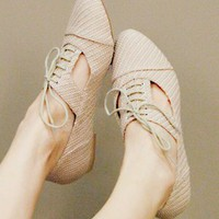 sand skip oxfords - shopcuffs.com