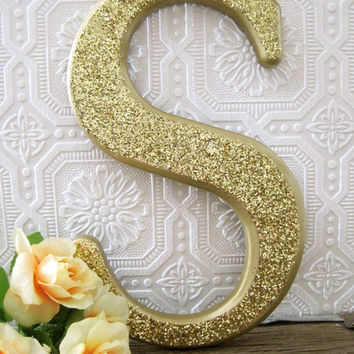 Decorative Nursery Letters Baby Girl Nursery Decor Shabby Chic Nursery Large Hanging Wall Letters