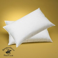 Beverly Hills Polo Club - 95% Feather - 5% Down Pillow 400tc - Filled & Finished in USA - 3 Year Warranty - King