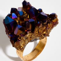 Crystal Cave Rock Ring