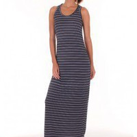 BLACK CASUAL KNIT MAXI DRESS @ KiwiLook fashion