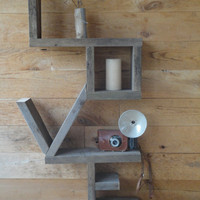 "The Original ""Love"" Shelf- OOAK"