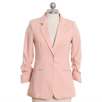 make me blush ruched blazer - &amp;#36;58.99 : ShopRuche.com, Vintage Inspired Clothing, Affordable Clothes, Eco friendly Fashion