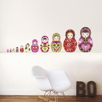 Russian Dolls Wall Decal at AllPosters.com