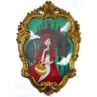 Bear and Bird Boutique+Gallery ONLINE - Title: Red Riding Hood - Artist: Danny Brito
