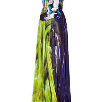 Mary Katrantzou - Underwater Fairytale Silk Dress