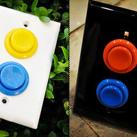 Retro To Go: Arcade Light Switches by AlephDesign