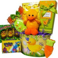 Art of Appreciation Gift Baskets Lucky Ducky Chocolate and Candy Easter Gift Basket