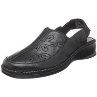 Easy Street Women`s Miriam Clog,Black,6 W US